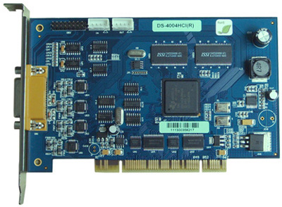 Hikvision Hardware Compression DVR Card: DS-4004HCI