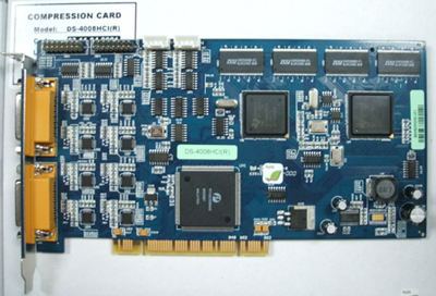 Hikvision Hardware Compression DVR Card: DS-4008HCI