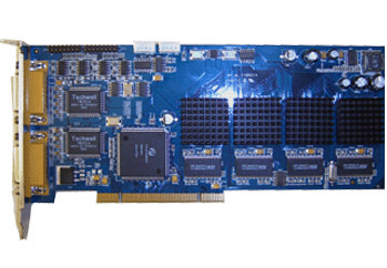 Full D1 Hikvision Hardware Compression DVR Card: DS-4008HFI