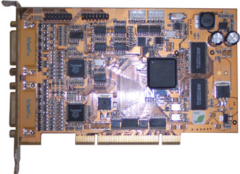 8ch Hikvision matériel de compression DVR Card: DS-4008HSI