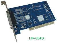 High Performance Software Compression PCI DVR Video Card: HK-804S, HK-808S, HK-816S