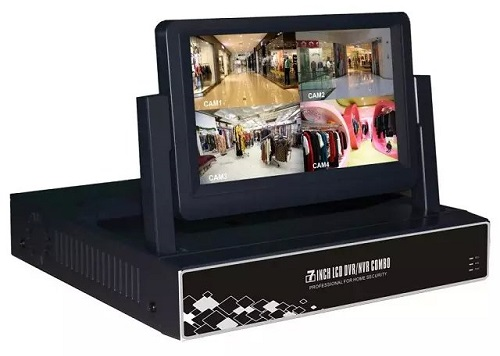 7inch AHD/NVR/DVR With Built-in LCD Monitor: HK-S0704M, HK-S0708M