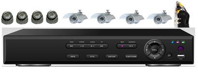 8Cam H.264 CCTV DVR System: HK-S2208F-kit