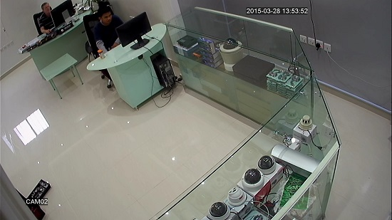 KingCCTV Showroom in Saudi Arabia