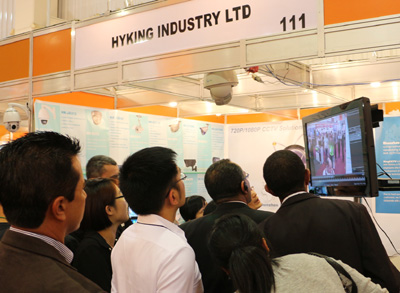 KingCCTV attended EXPOSEC 2014 in Brazil from May 13 to May 15